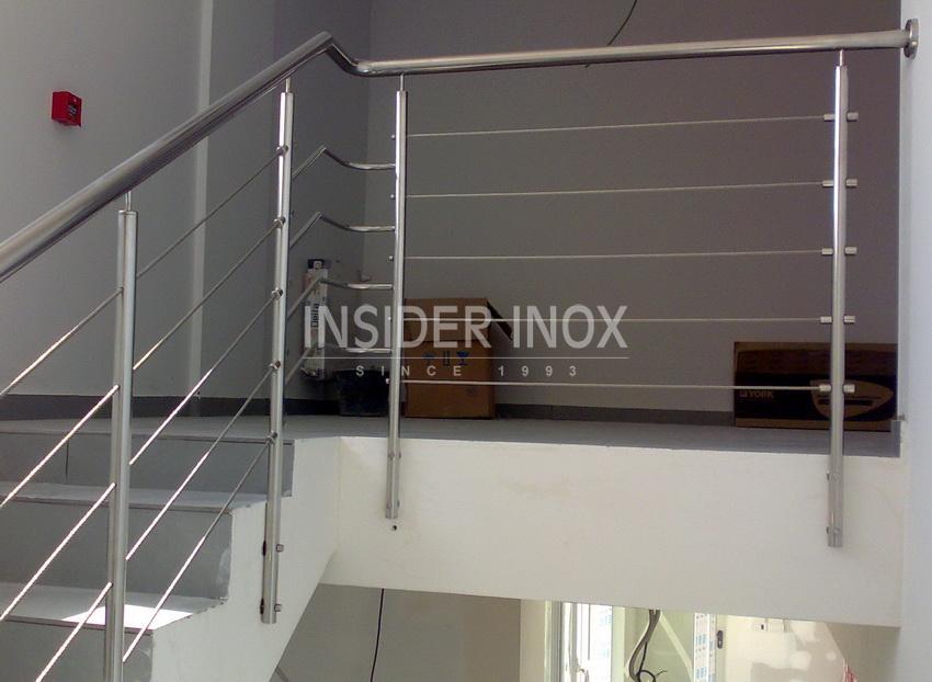 balustrade inox cabluri. Black Bedroom Furniture Sets. Home Design Ideas